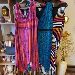 3 Catherine's sundresses 2x/3x